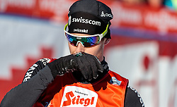 29.01.2017, Casino Arena, Seefeld, AUT, FIS Weltcup Nordische Kombination, Seefeld Triple, Langlauf, im Bild Tim Hug (SUI) // Tim Hug of Switzerland reacts after Cross Country Gundersen Race of the FIS Nordic Combined World Cup Seefeld Triple at the Casino Arena in Seefeld, Austria on 2017/01/29. EXPA Pictures © 2017, PhotoCredit: EXPA/ JFK
