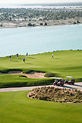 Yas Links golf course in Abu Dhabi