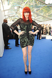 FLORENCE WELCH at the Glamour Women Of The Year Awards held in Berkeley Square, London on 8th June 2010.