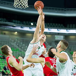 20141007: SLO, Basketball - ABA League 2014/15, KK Union Olimpija vs KK Cedevita