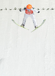 06-02-2014 SCHANSSPRINGEN: OLYMPIC GAMES: SOTSJI<br /> Training Schansspringen op het Russki Gorki Jumping Center / Jernej Damjan SLO<br /> ©2014-FotoHoogendoorn.nl<br />  / Sportida
