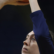 Breanna Stewart, UConn, warming up during the UConn Vs DePaul, NCAA Women's College basketball game at Webster Bank Arena, Bridgeport, Connecticut, USA. 19th December 2014