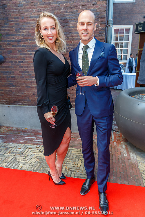 NLD/Amsterdam/201807 - Leading Ladies Awards 2018, Marielle van Essen en partner