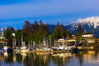 Harbor, Wrangell, southeast Alaska USA
