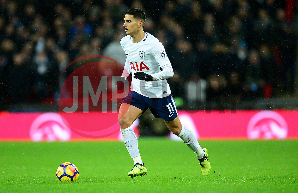 Erik Lamela of Tottenham Hotspur - Mandatory by-line: Alex James/JMP - 04/01/2018 - FOOTBALL - Wembley Stadium - London, England - Tottenham Hotspur v West Ham United - Premier League