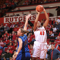 NCAA Women's Basketball - Rutgers 60, DePaul 57 - Jan. 2, 2010
