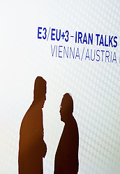 14.07.2015, Austria Center, Wien, AUT, Einigung bei E3/ EU+3 - Iran Gespraeche (Frankreich, Deutschland, Vereinigtes Koenigreich, China, Russland und USA), im Bild Feature Irangespräche // Feature Iran Talks during aggreement of P5+1 - Iran Talks (France, Germany, United Kingdom, China, Russia and USA) at Austria Centre in Vienna, Austria on 2015/07/14, EXPA Pictures © 2015, PhotoCredit: EXPA/ Michael Gruber