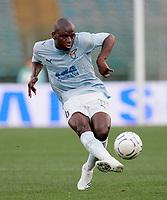 "Gaby Mudingayi (Lazio)<br /> Italian ""Serie A"" 2006-07 <br /> 18 Apr 2007 (Match Day 22)<br /> Lazio-Chievo (0-0)<br /> ""Olimpico"" Stadium-Roma-Italy<br /> Photographer Luca Pagliaricci INSIDE"