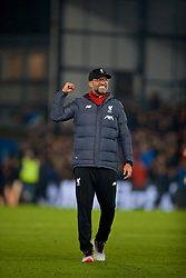 LONDON, ENGLAND - Saturday, November 23, 2019: Liverpool's manager Jürgen Klopp celebrates after the FA Premier League match between Crystal Palace and Liverpool FC at Selhurst Park. Liverpool won 2-1. (Pic by David Rawcliffe/Propaganda)