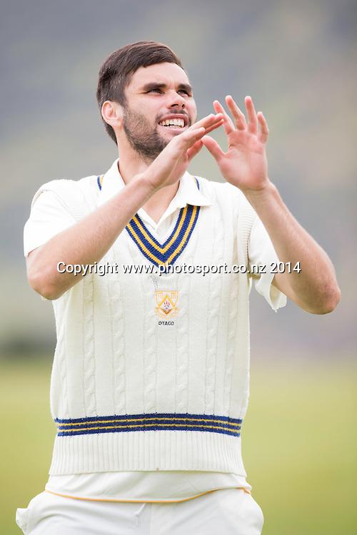 New Zealand: Michael Sneddon: New Zealand XI v Sri Lanka - Day 1, Queenstown, 21 December 2014 CREDIT: Libby Law / www.photosport.co.nz