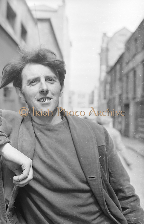 Portrait of Artist and Sculptor Edward Delaney..28.07.1964