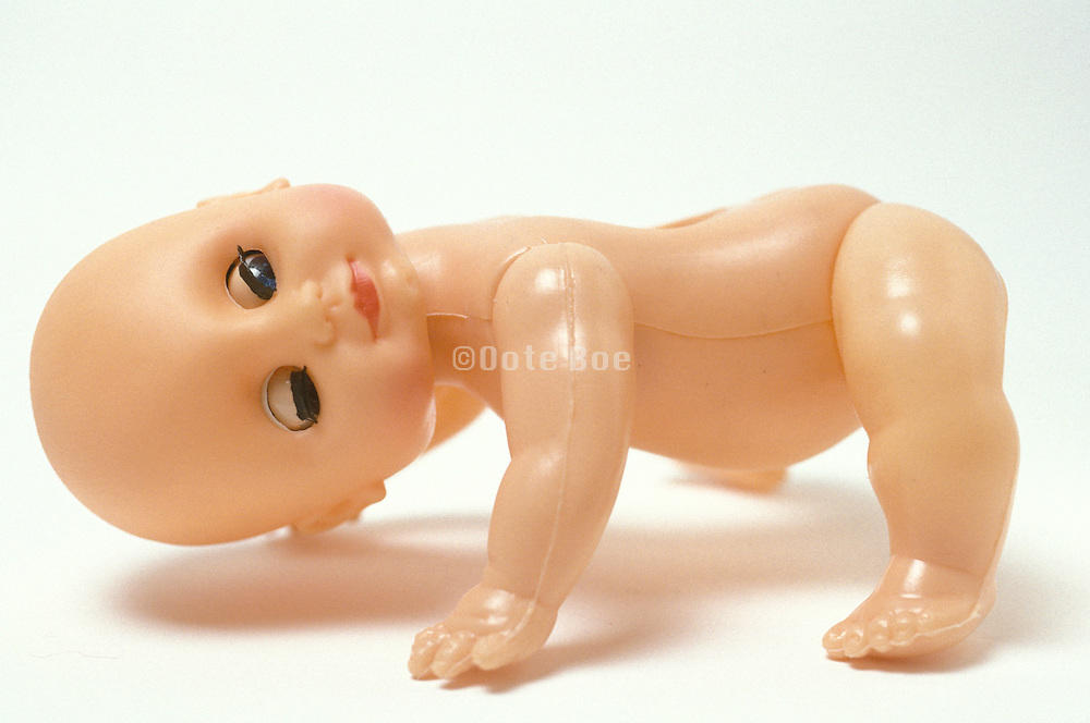 contorted baby doll
