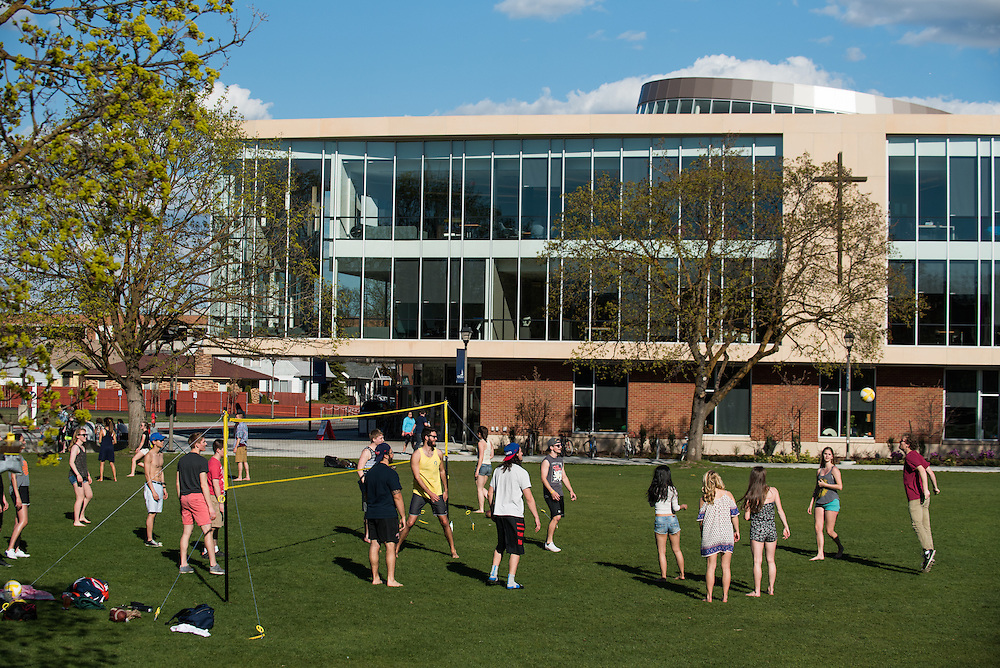 Spring came early this year at Gonzaga. (Photo by Gonzaga University)