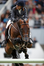 Amilibia Paola, (ESP), Notre Star de la Nutria<br /> Furusiyya FEI Nations Cup presented by Longines<br /> Longines Jumping International de La Baule 2015<br /> © Hippo Foto - Dirk Caremans<br /> 15/05/15