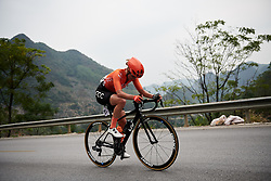 Valerie Demey (BEL) at GREE Tour of Guangxi Women's WorldTour 2019 a 145.8 km road race in Guilin, China on October 22, 2019. Photo by Sean Robinson/velofocus.com