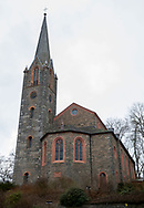 Bad Berleburg , 20-03-2017 <br /> <br /> Evangelical Church at Bad Berleburg where the funeral of Prince Richard zu Sayn-Wittgenstein-Berleburg will be held on 21-03-2017.<br /> <br /> <br /> COPYRIGHT: ROYALPORTRAITS EUROPE/ BERNARD RUEBSAMEN