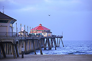 Sunrise at Huntington Beach Pier