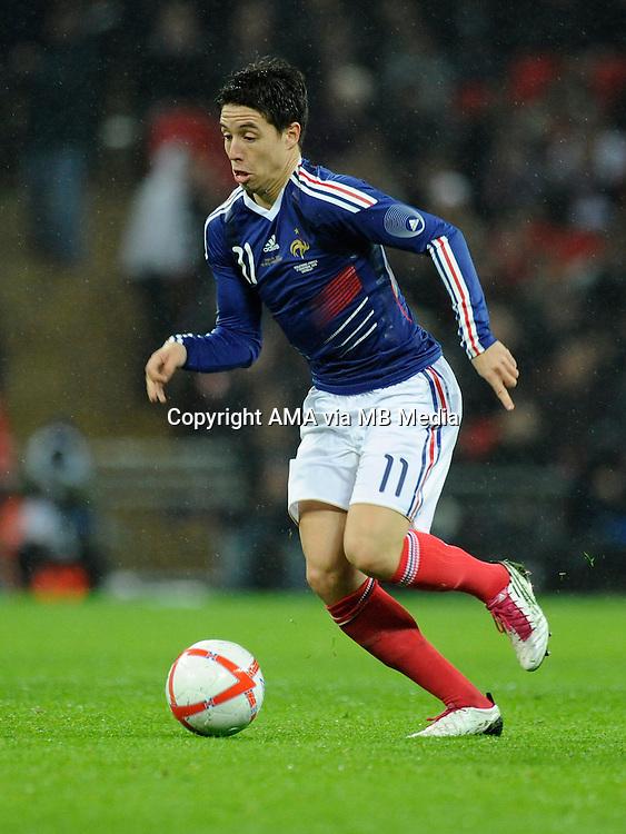 Samir Nasri of France