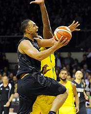 Wellington-Basketball, New Zealand v Australia, men