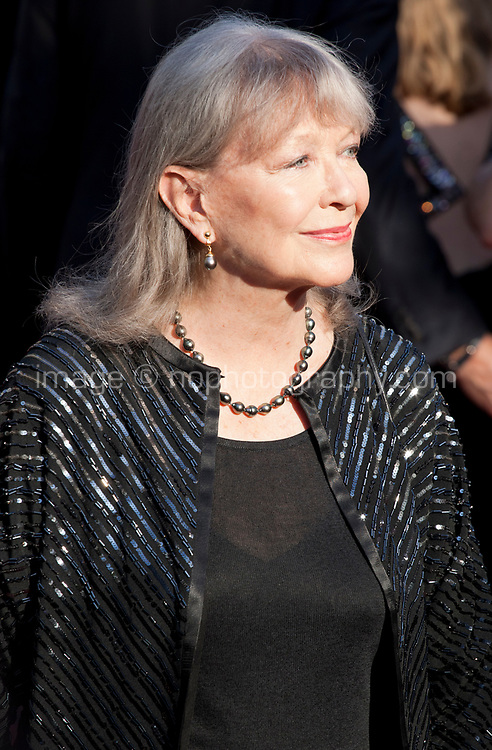 Actress Marina Vlady arriving to the Closing Ceremony and awards at the 70th Cannes Film Festival Sunday 28th May 2017, Cannes, France. Photo credit: Doreen Kennedy