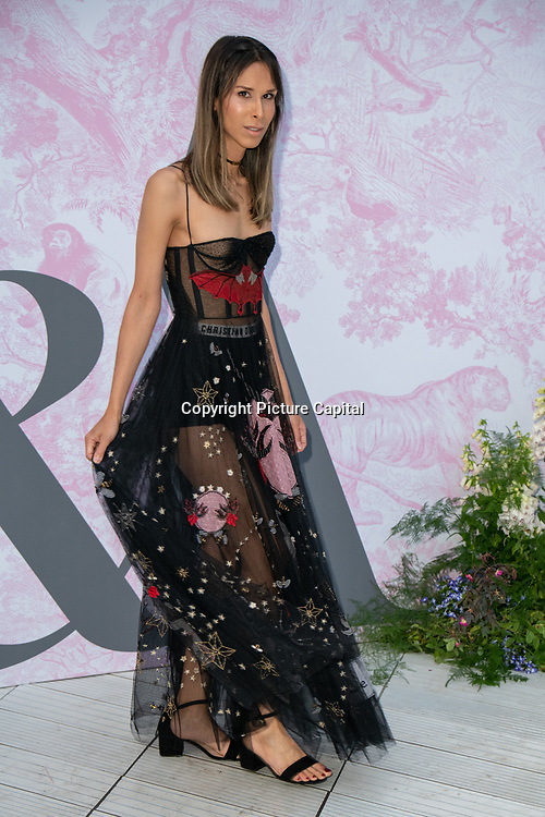 Isabella Charlotta arrives at V&A - summer party, on 19 June 2019, London, UK
