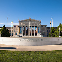 Chicago Field Museum of Natural History is located in Museum Campus along Lake Shore Drive and Lake Michigan and is a popular attraction.