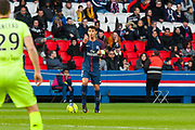 Tiago Emiliano Da Silva (psg) during the French Championship Ligue 1 football match between Paris Saint-Germain and SCO Angers on march 14, 2018 at Parc des Princes stadium in Paris, France - Photo Pierre Charlier / ProSportsImages / DPPI