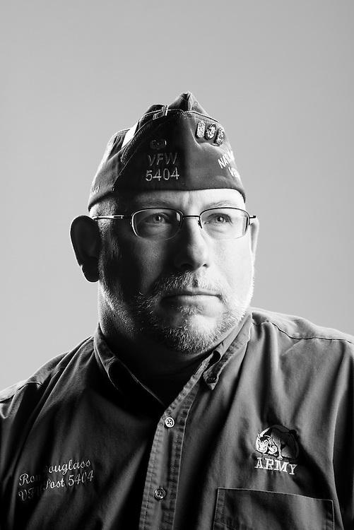 Ron Douglas<br /> Army<br /> E-6<br /> Infantry<br /> 1984 - 1992<br /> Korea, Iraq<br /> <br /> Veterans Portrait Project<br /> St. Louis, MO