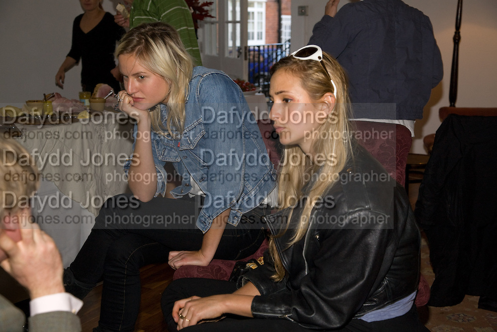 OLYMPIA SCARRY; PRINCESS ELIZABETH VON THURN UND TAXIS, Julia, Mark and Francesca host a party for Tracey Emin and her new Travelling chess set. RS&A Ltd. 50b Buttesland St. Hoffman Sq. London N1. 12 October 2008 *** Local Caption *** -DO NOT ARCHIVE-© Copyright Photograph by Dafydd Jones. 248 Clapham Rd. London SW9 0PZ. Tel 0207 820 0771. www.dafjones.com.