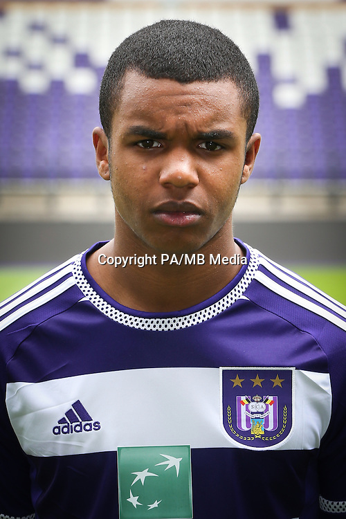 Anderlecht's Nathan De Medina pictured during the 2015-2016 season photo shoot of Belgian first league soccer team RSC Anderlecht, Tuesday 14 July 2015 in Brussels.