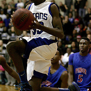 Trask's Tyquan Davis shoots against Pender Tuesday at Trask High School. (Jason A. Frizzelle)