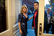 RACHEL JOHNSON; JOHN DOWER, Rachel's Johnson's 'A Diary of the Lady'book launch at The Lady's offices. Covent Garden. London. 30 September 2010. -DO NOT ARCHIVE-© Copyright Photograph by Dafydd Jones. 248 Clapham Rd. London SW9 0PZ. Tel 0207 820 0771. www.dafjones.com.