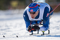 SOULE Andrew, USA, Middle Distance Cross Country, 2015 IPC Nordic and Biathlon World Cup Finals, Surnadal, Norway