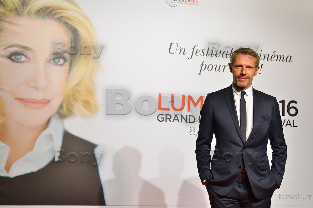 Lambert Wilson <br /> Lyon 8 oct 2016 - Festival Lumi&egrave;re 2016 - C&eacute;r&eacute;monie d&rsquo;Ouverture<br /> 8th Film Festival Lumiere In Lyon : Opening Ceremony