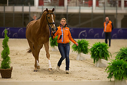 Van Baalen Marlies (NED) - BMC Miciano <br /> Reem Acra FEI World Cup Goteborg 2013<br /> © Dirk Caremans