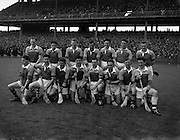 National Hurling League Final, .Limerick v Wexford,.11.05.1958, 05.11.1958, 11th May 1958,..Wexford Team.
