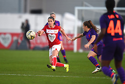 Carla Humphrey of Bristol City - Mandatory by-line: Paul Knight/JMP - 17/11/2018 - FOOTBALL - Stoke Gifford Stadium - Bristol, England - Bristol City Women v Liverpool Women - FA Women's Super League 1