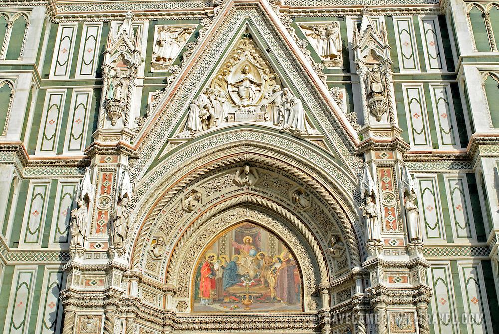 Santa Maria del Fiore (the Duomo) in Firenze (Florence) Italy