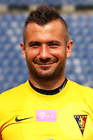 15.07.2014 Szczecin<br /> T-Mobile Ekstraklasa Sezon 2014/2015<br /> Pogon Szczecin<br /> Radoslaw Janukiewicz