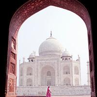 View of the Taj Mahal, Agra, India