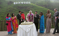60723705<br /> Britain's Prince Charles visits the Mackwoods Labookellie Tea Estate in Kandy, Sri Lanka, Nov. 16, 2013. The Royal couple is taking a visit to Sri Lanka to attend the 2013 Commonwealth Heads of Government Meeting, Saturday, 16th November 2013. Picture by  imago / i-Images<br /> UK ONLY