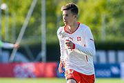 21.09.2017; Niederhasli; FUSSBALL U16 - Schweiz - Italien;<br /> Mihailo Stevanovic (SUI) <br /> (Andy Mueller/freshfocus)