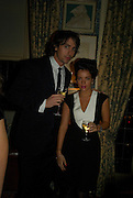 LILLY ALLEN AND GEORGE LAMB, Pre Bafta dinner hosted by Charles Finch and Chanel. Mark's Club. Charles St. London. 9 February 2008.  *** Local Caption *** -DO NOT ARCHIVE-© Copyright Photograph by Dafydd Jones. 248 Clapham Rd. London SW9 0PZ. Tel 0207 820 0771. www.dafjones.com.