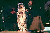 "Amanda Roocroft as Cho-Cho San in Royal Opera's ""Madama Butterfly""<br /> <br /> Original Production: Patrice Caurier / Moshe Leiser<br /> Director: Justin Way<br /> Set Design: Christian Fenouillat<br /> Costume Design: Agostino Cavalaca<br /> Lighting: Christophe Forey"