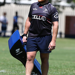 Lourens Adriaanse during The Cell C Sharks Pre Season training, session at Growthpoint Kings Park in Durban, South Africa. 17 February 2017(Photo by Steve Haag)<br /> <br /> images for social media must have consent from Steve Haag