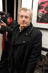 TERRY O'NEILL at a private view of 'Most Wanted' an exhibition of photographs held at The Little Black Gallery, Park Walk, London on 27th November 2008.