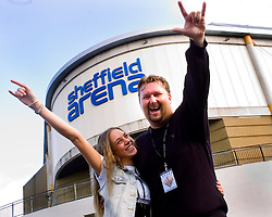 Emma Deigman and Elliot Kennedy Supports Girls Aloud at Sheffield Arena  15 May 2009 Copyright Paul David Drabble