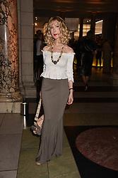 Basia Briggs at the Balenciaga Shaping Fashion VIP Preview, The V&A Museum, London England. 24 May 2017.<br /> Photo by Dominic O'Neill/SilverHub 0203 174 1069 sales@silverhubmedia.com