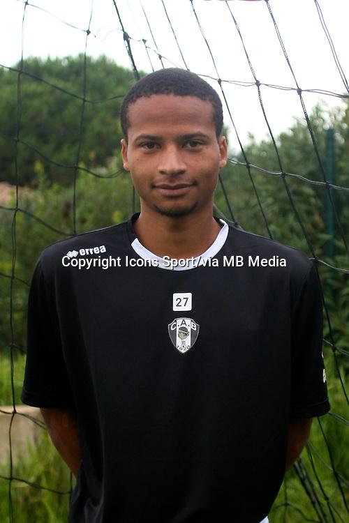 Jerome PHOJO - 29.10.2013 - Photo Officielle - CA Bastia -<br /> Photo : Icon Sport
