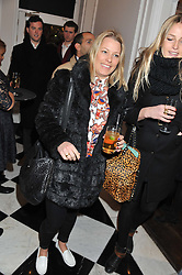 DAVINA HARBORD at a party to celebrate thelaunch of Alice Temperley's flagship store Temperley, Bruton Street, London on 6th December 2012.